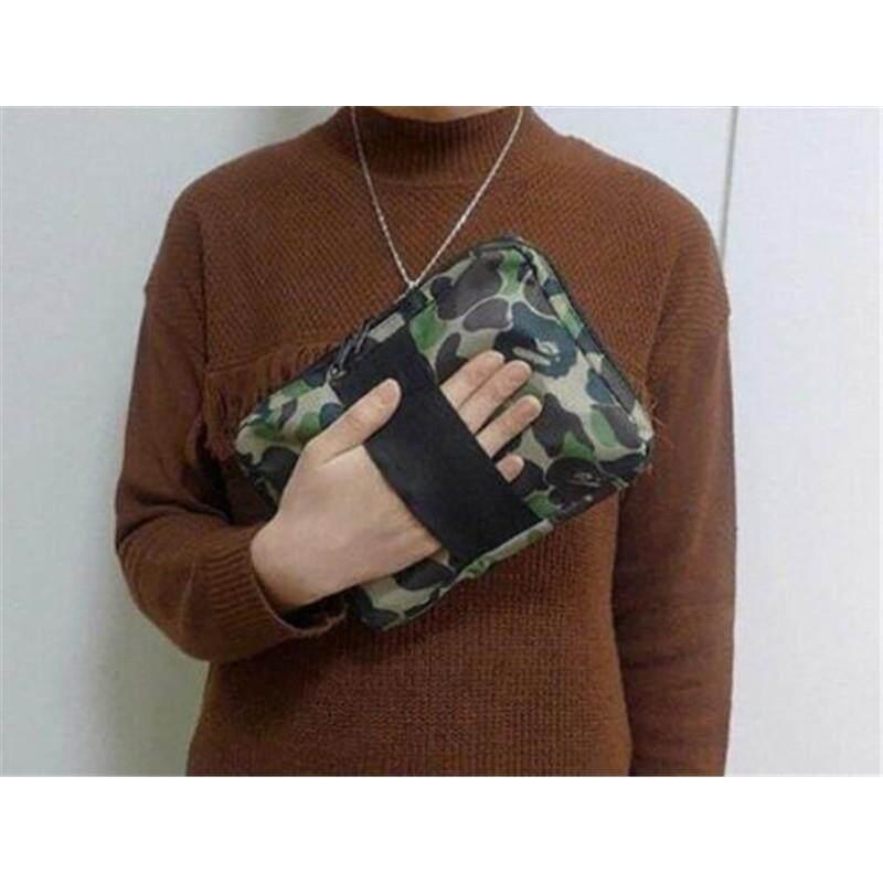 A Bathing Ape BAPE Camo Wallet Tablet Passport Case Bag From Japan Magazine