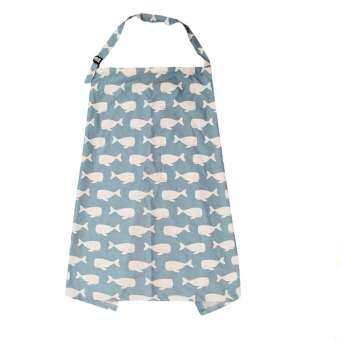 SunnyShop หญิงตั้งครรภ์ผ้าคลุมให้นมลูกพร้อมกระเป๋าเก็บของสำหรับกลางแจ้ง-