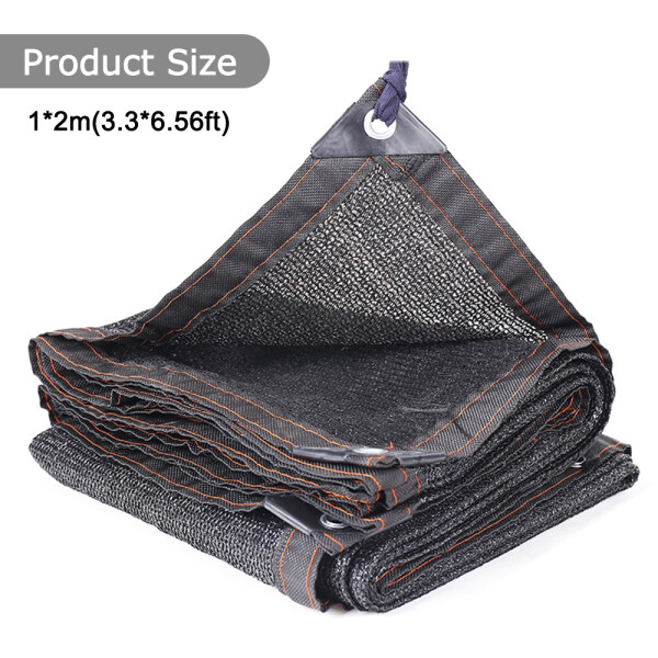 Anti-UV Sunshade Net Outdoor Garden Sunscreen Sunblock Shade Cloth Net Plant Greenhouse Cover Car Cover 85% Shading Rate