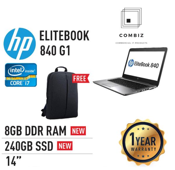 HP Elitebook 840 G1 - 14 / Core I5 / I7-4th Laptop (Refurbished) Malaysia
