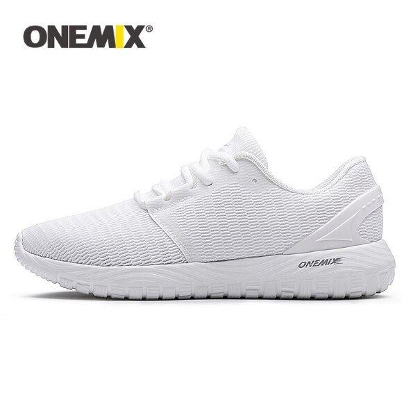 ONEMIX Thời Trang Ngoài Trời Phụ Nữ Trắng Sneakers Chất Lượng Cao Casual Giày Thoáng Khí Lưới Mềm Chạy Bộ Quần Vợt Mens Giày Mùa Hè giá rẻ