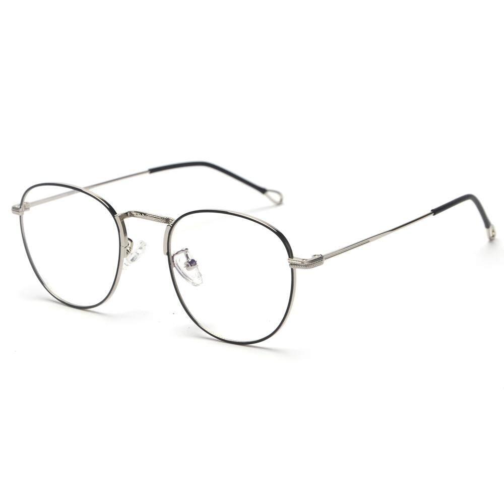 ee780f5bc80 Retro Round Eyeglasses Frames Men Metal Frame 2019 Male Computer Glasses  Women Optical Frame Gold Black