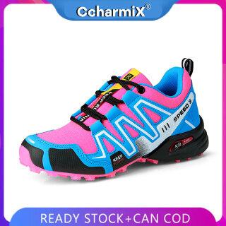 Giày Đi Bộ Nữ CcharmiX, Đào Tạo Sneakers, Giày Đi Bộ Ngoài Trời Giày Cầu Lông Giày Chơi Gôn thumbnail