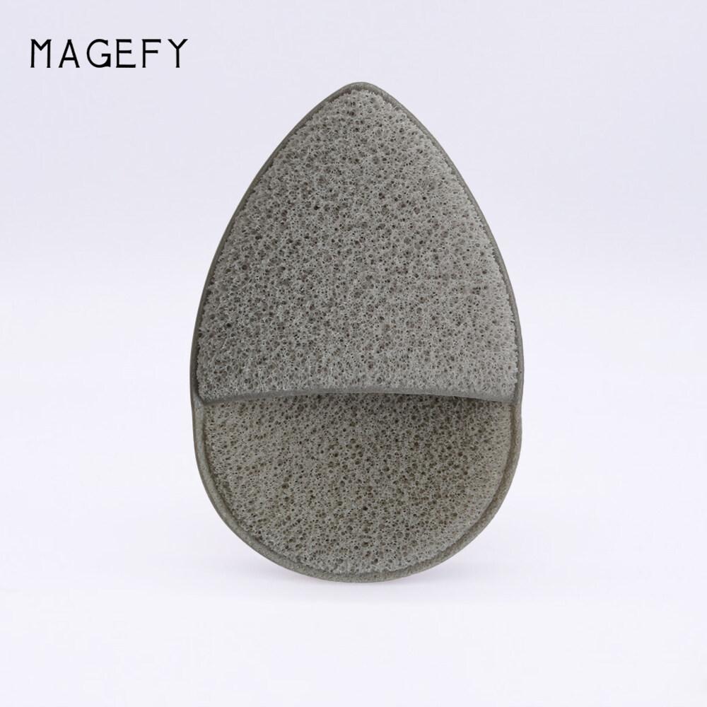 [magefy] พัฟล้างหน้า ฟองน้ำทำความสะอาดหน้า ฟองน้ำล้างเครื่องสำอาง สัมผัสนุ่ม ใช้ได้หลายครั้ง.