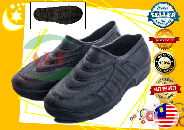 BLACK WATER PROOF RUBBER PVC SHOE (MADE IN MALAYSIA)
