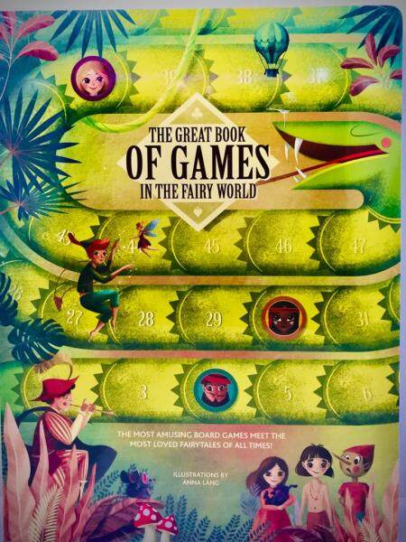 The Great Book Of Games In The Fairy World Malaysia