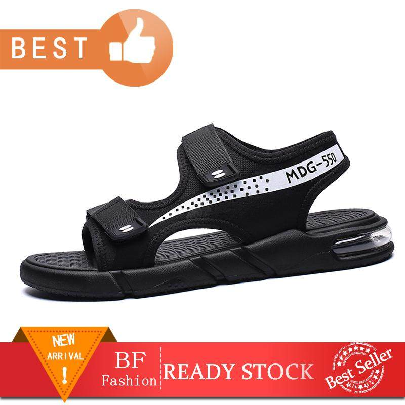 Breathable Flat Sandals Men Comfortable Lightweight Sandals Casual Men Beach Hollow Casual Shoes Size 38-45
