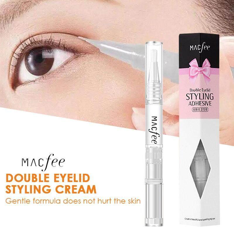Double Eyelid Gel Eyelid Lift Styling Cream Double Eyelid Cream Eyes Care  Effective 3ml Sweatproof Women Waterproof Beauty Long Lasting Transparent