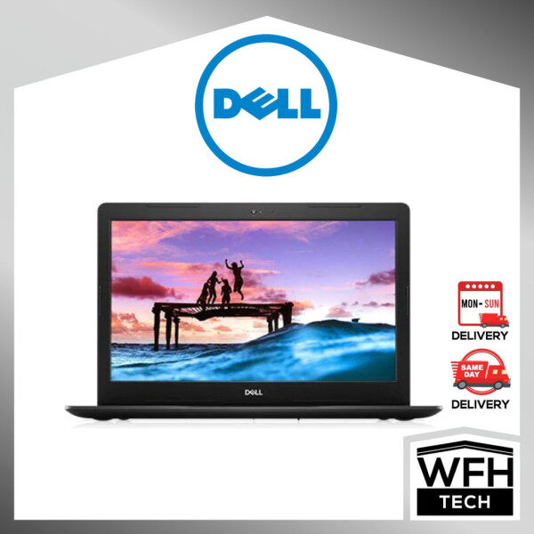 **Dell Inspiron 3580 W5160153101BPWMYW10 Black/Intel Celeron 4205U 1.80GHz/4GB DDR4/500GB HDD/15 inch/HD/DVDRW/ Malaysia