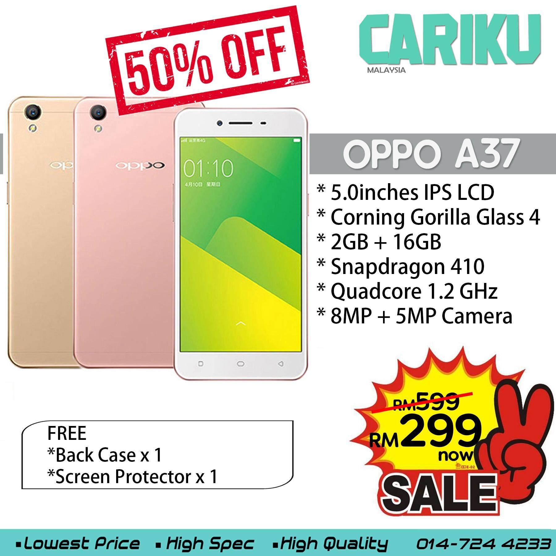 OPPO A37 2+16GB Original New Ready Stock !! CARIKU