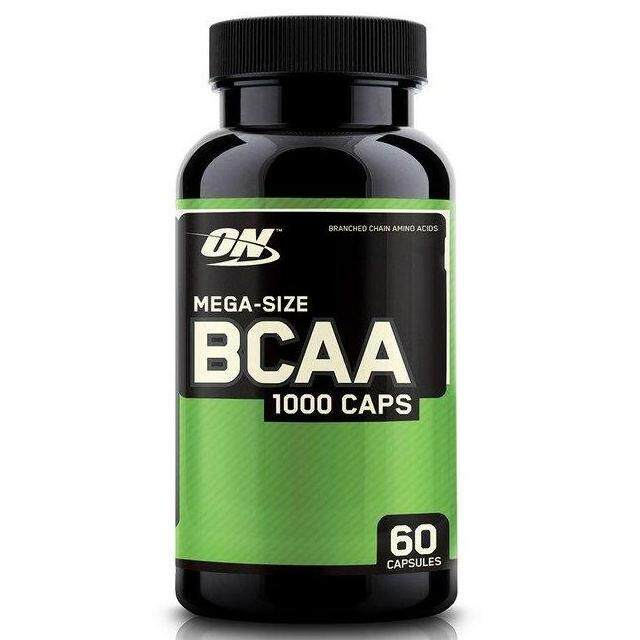 Optimum Nutrition Bcaa 1000 Caps, Mega-Size, 1,000 Mg (60 Capsules) By The Goodlooking Company.
