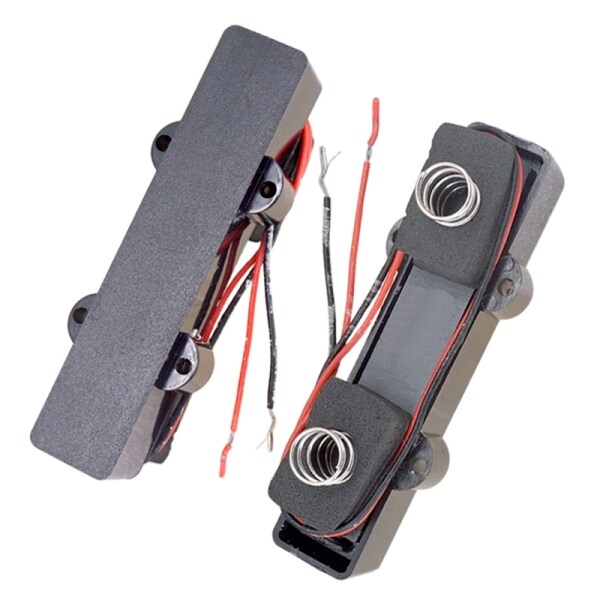 4-String Closed Style Pickup 91mm+94mm with Springs Pickup for Jazz Bass Guitar Replacement Parts