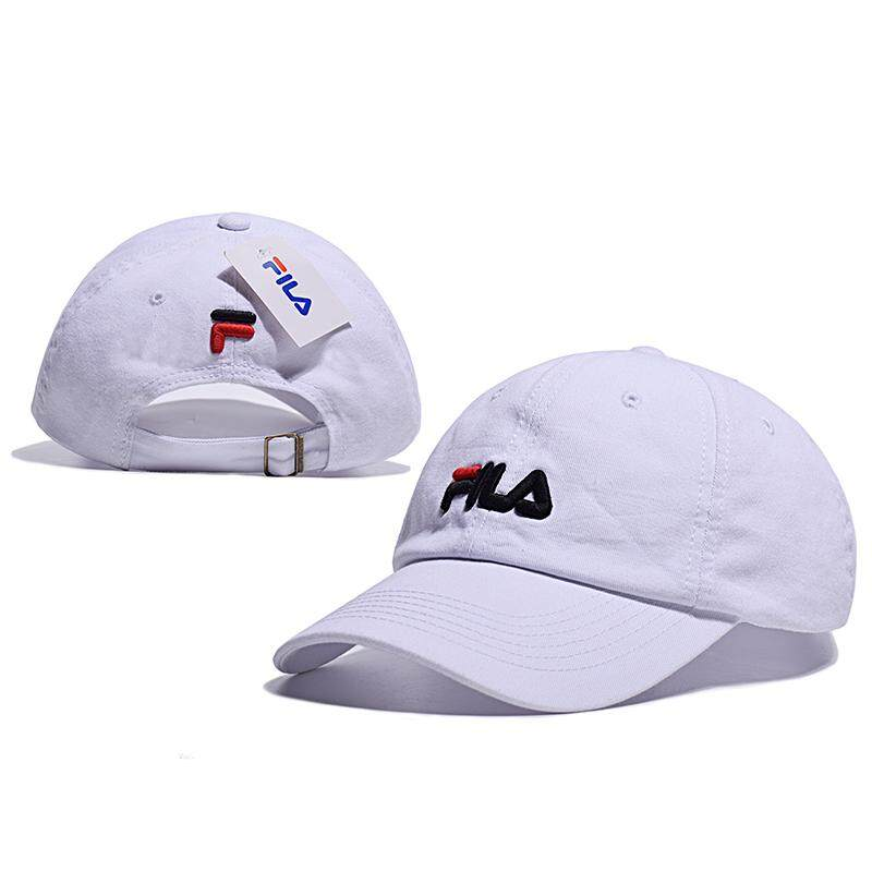 b59616ff734 FILA High Quality Baseball Cap Unisex Sports Leisure Hats Letter Embroidery Sport  Cap for Men and