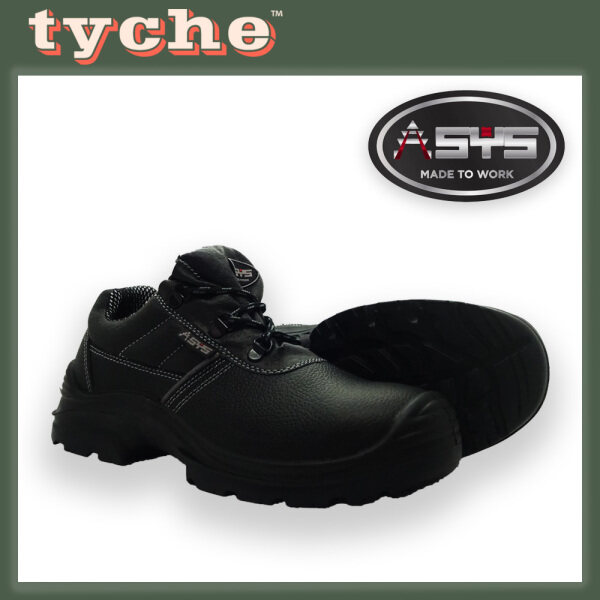 ASYS Mens Safety Boots Low Cut Leather Model NINJA