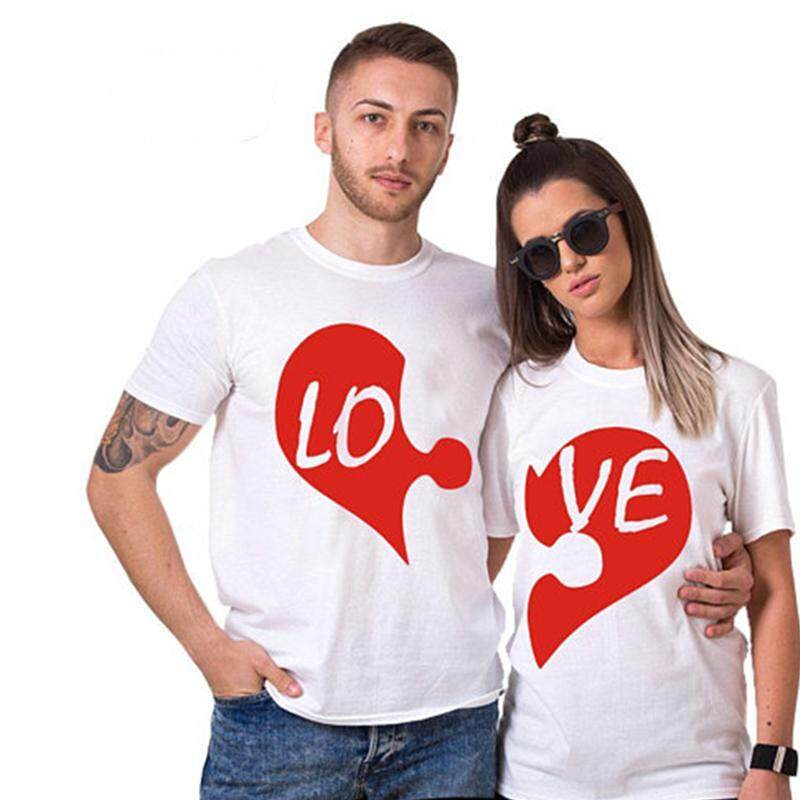 couple t-shirt/2 t-shirt together/best quality/fast delivery