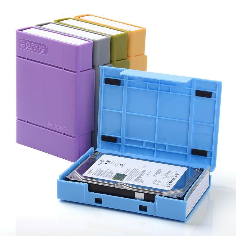 Orico/Oerico 3.5-inch mobile hard disk storage box with label set mobile hard disk protection shock box