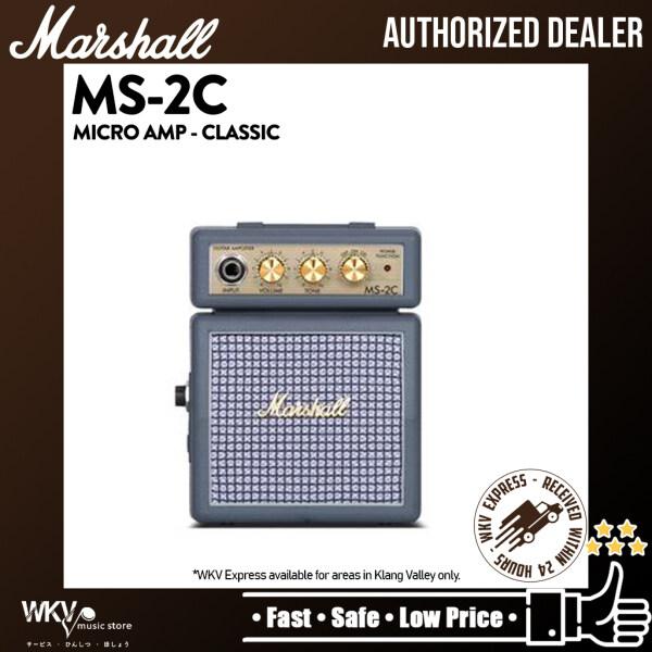 Marshall MS-2C 1Watt Micro Amplifier Battery-powered Portable Micro Amp (MS2C / MS-2 / MS2) Malaysia