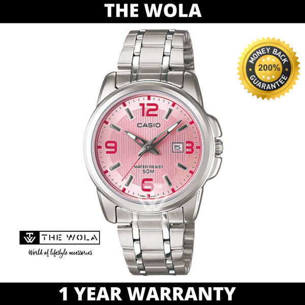 (100% Original CASIO) CASIO Women Casual Watch LTP-1314D-5AVDF (watch for women / jam tangan wanita / Casio watch for women / Casio watch / women watch) Malaysia