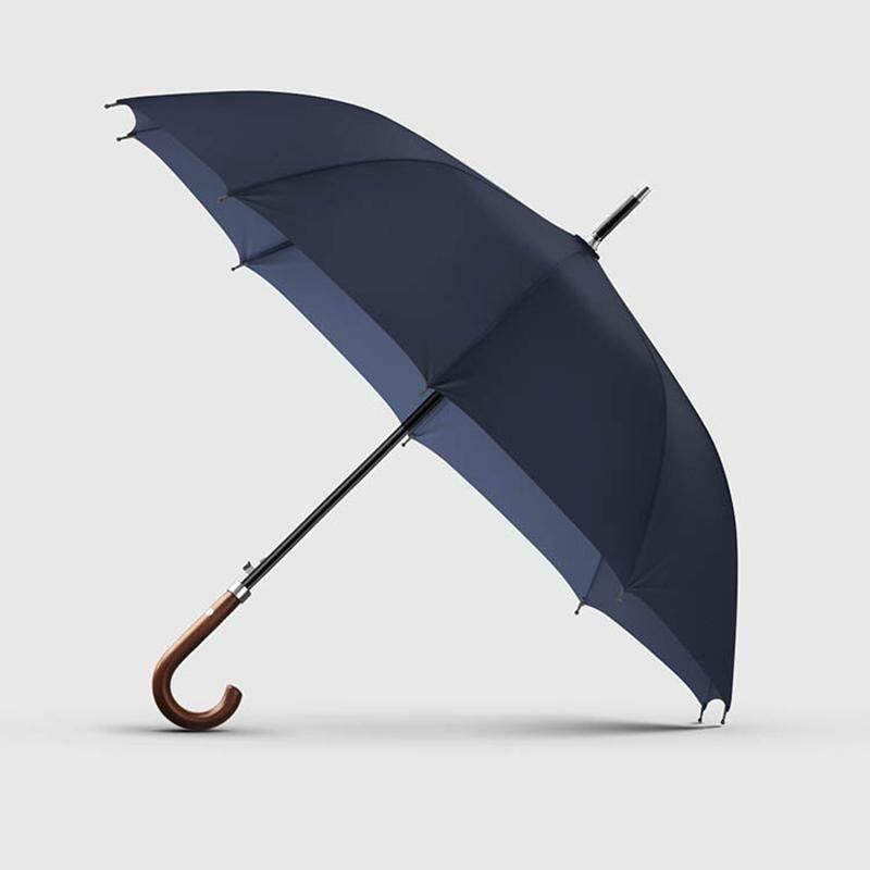 a05359869 OLYCAT New Arrival Long Rain Umbrella Men Women Business Wooden Handle  Large Umbrella Windproof 10Ribs Glass