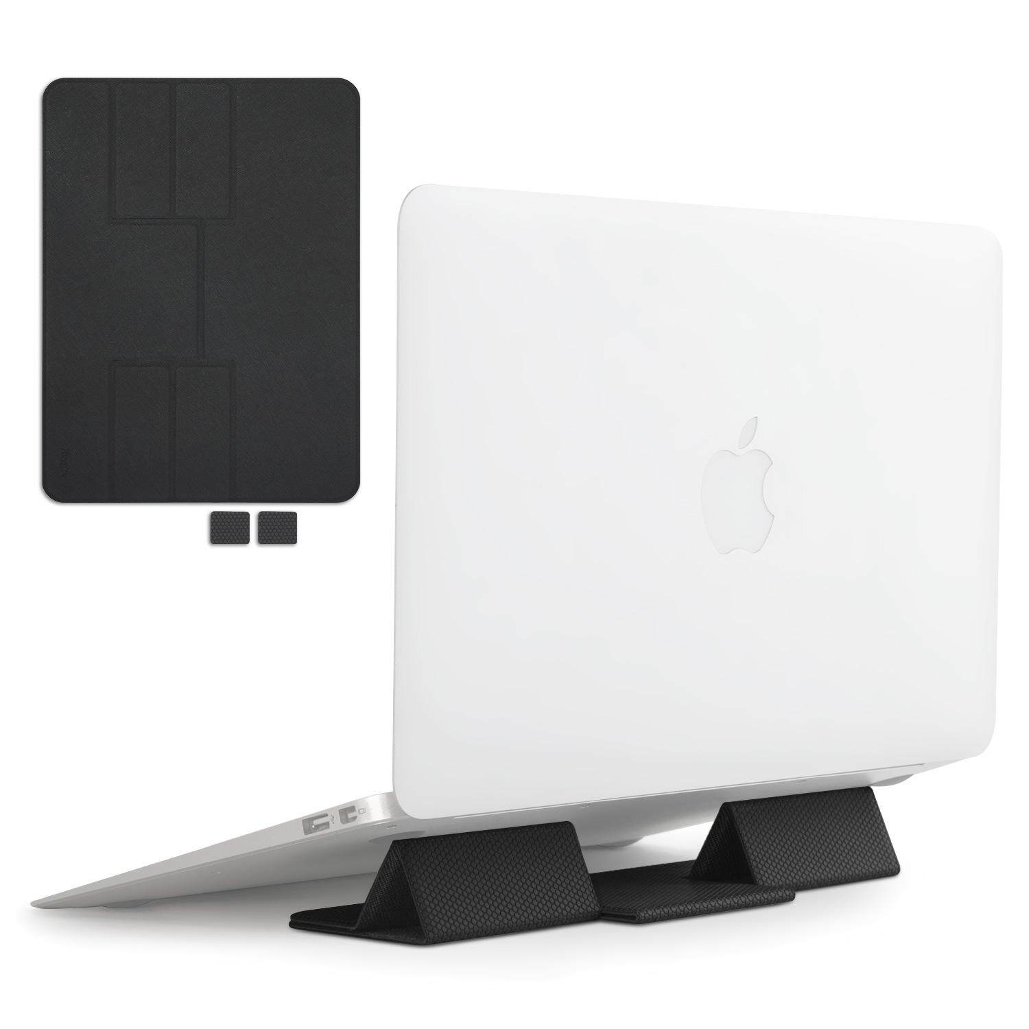 Ringke Folding Stand Portable and Foldable Laptop Stand for Desktop MacBook Notebook Computer iPad Tablet