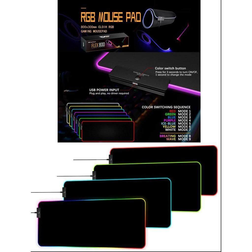 Aigo Darkflash Flex 800 RGB Gaming Mouse Pad Malaysia