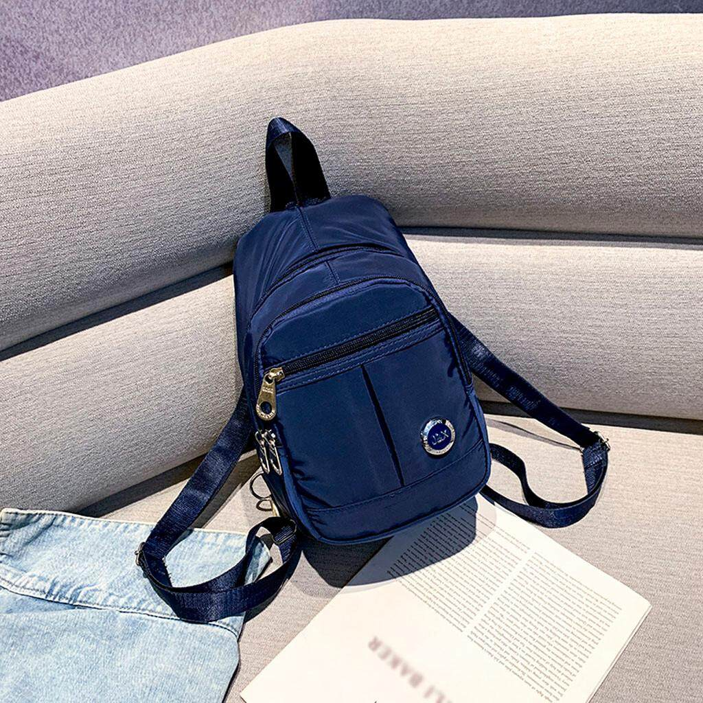 Aiipstore Women Nylon Backpack Student Backpack Fashion Casual Men And Women School Bag