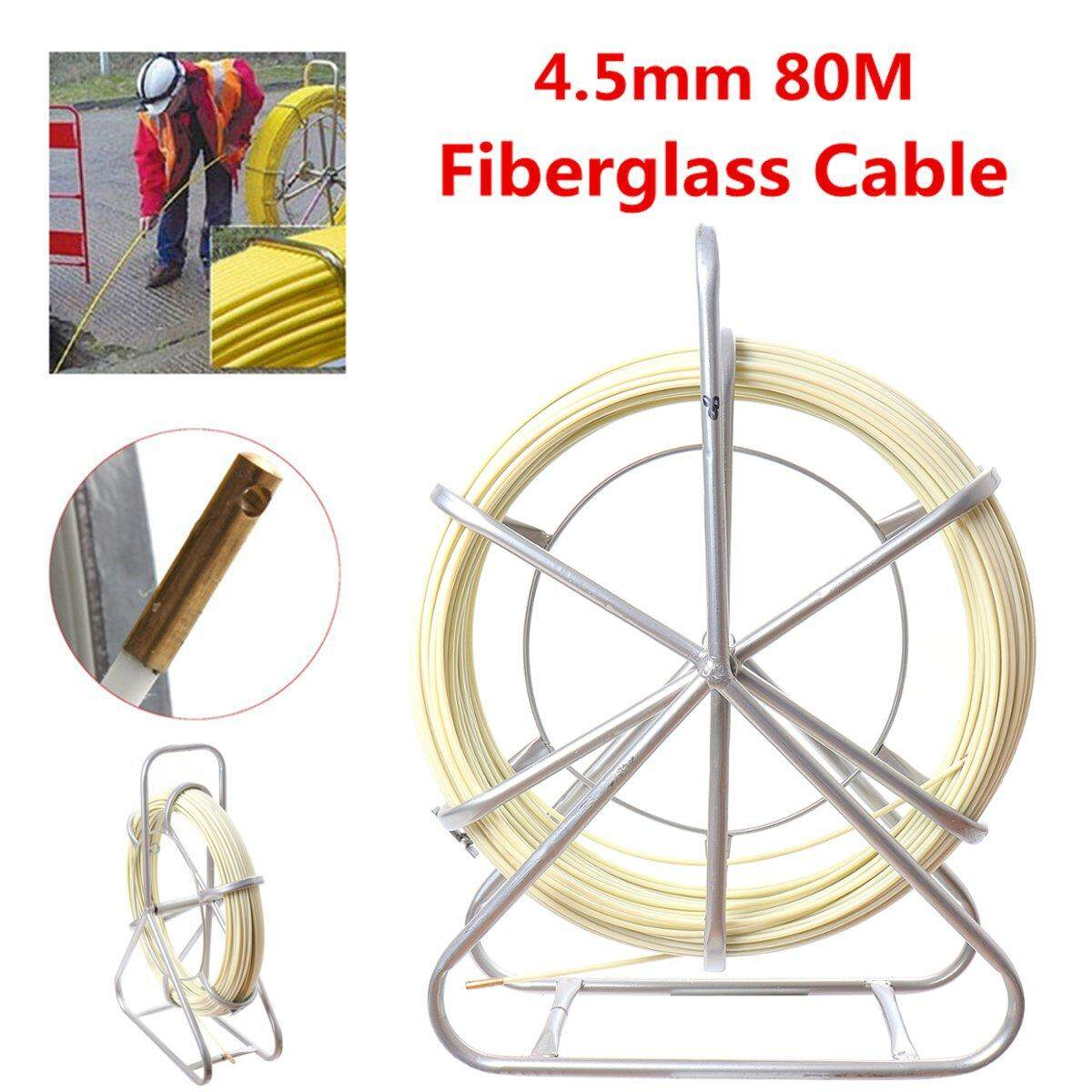 Fiberglass Wire Cable Rod Duct Electric Tape Running Puller Lead Tools