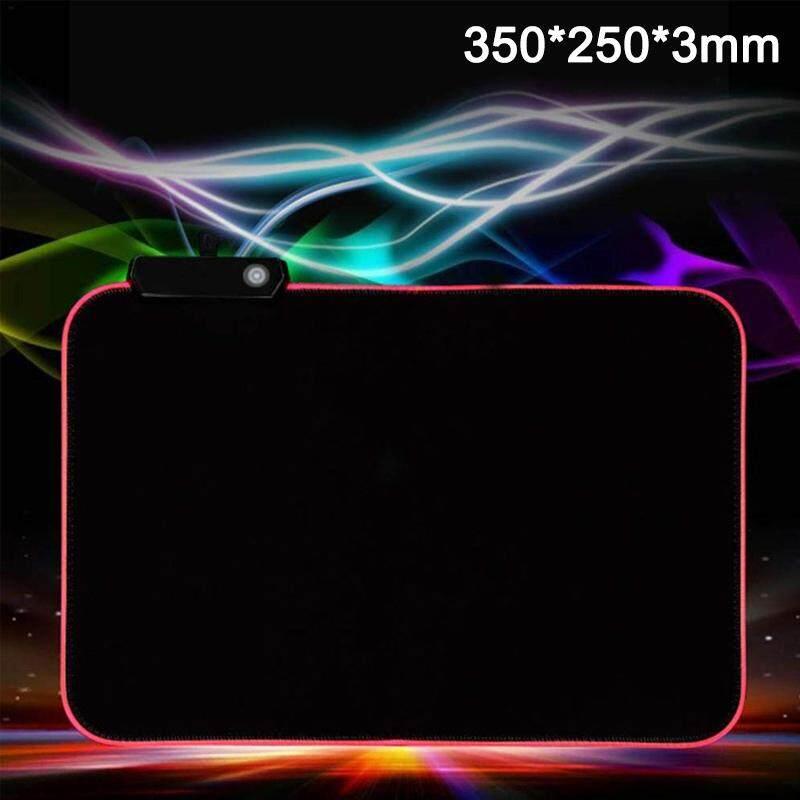 Giá RGB LED Nhiều Màu Chiếu Sáng Miếng Lót Chuột Cho Máy Tính Laptop Chơi Game