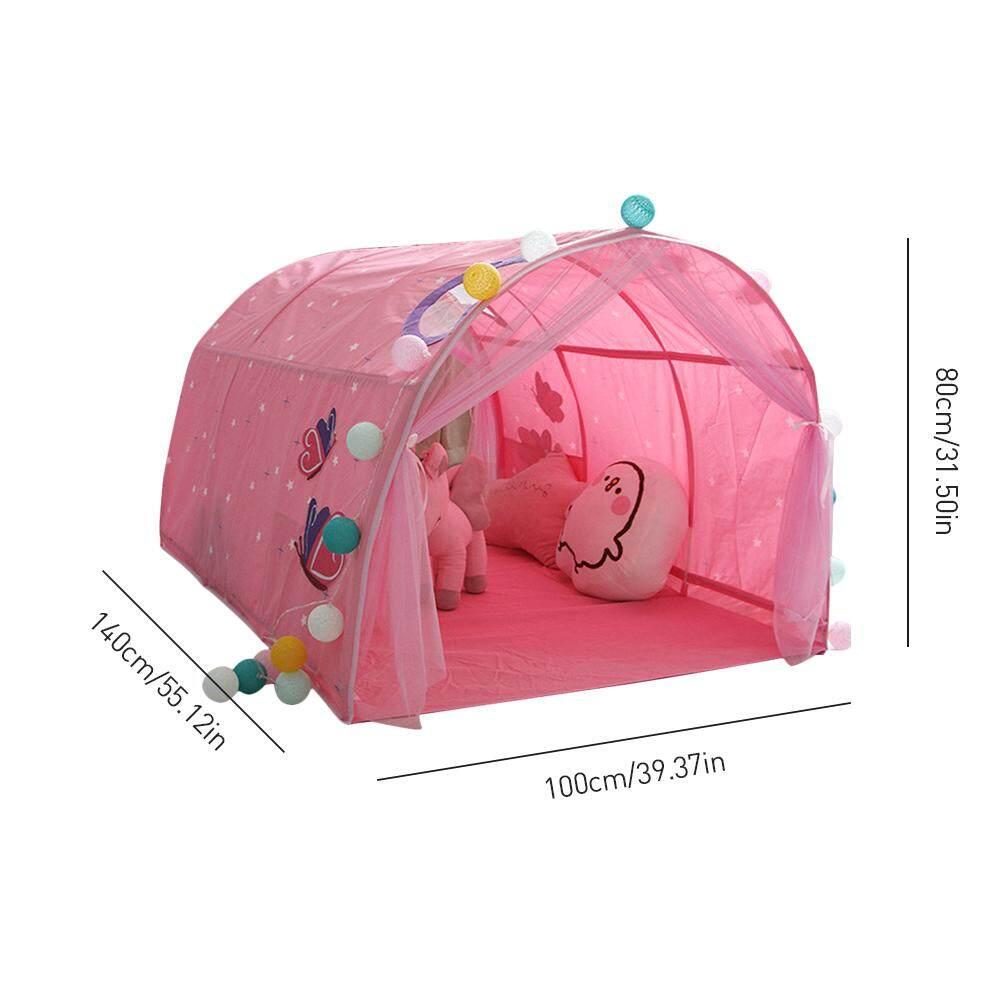 KR Trẻ Em Ngủ LềU Nhà Trò Chơi Bé Nhà Lều Bé Trai Gái Ngôi Nhà An Toàn Đường Hầm Lều - 6