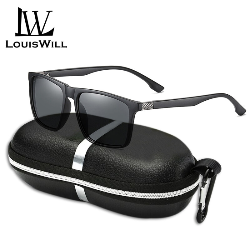 Mua LouisWill Men Sunglasses Polarized Classical Fashion Glasses UV400 TAC Lens Sunglasses Outdoor Activities Sports Sunglasses Driving Fishing Racing Eyewear Non-slip TR Temples Sun Glasses