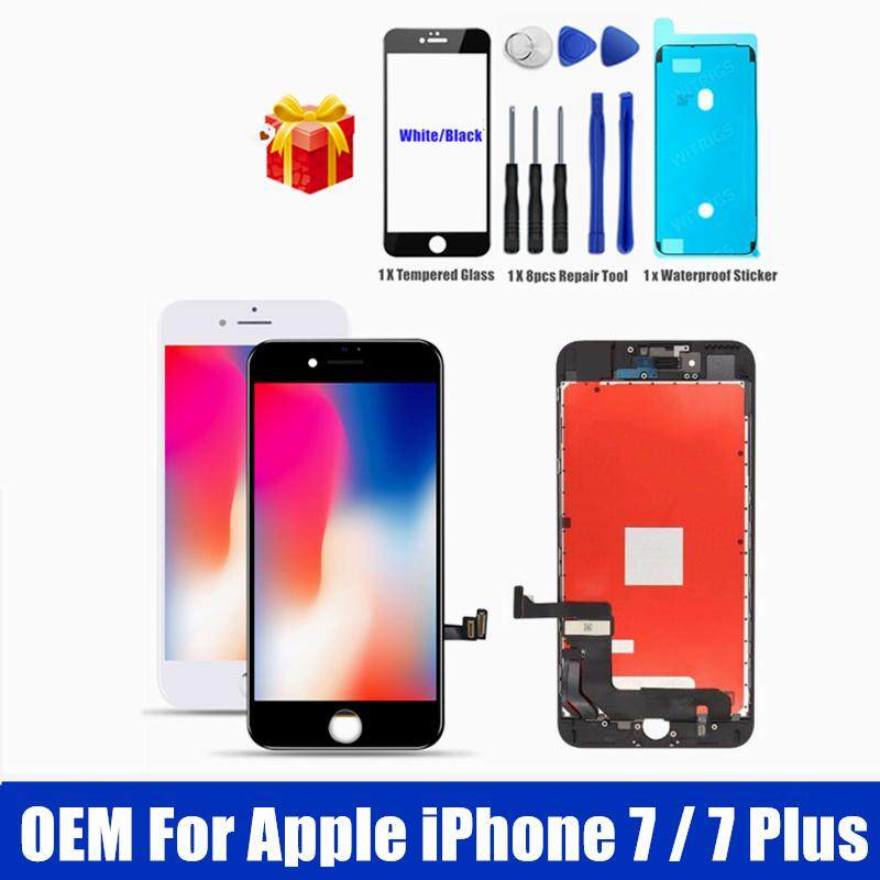 100% Original Screen For iPhone 7 / 7 Plus LCD Screen Display With Frame  Touch Panel For iPhone7 Plus LCD Digitizer Assembly Replacement Spare  Repair