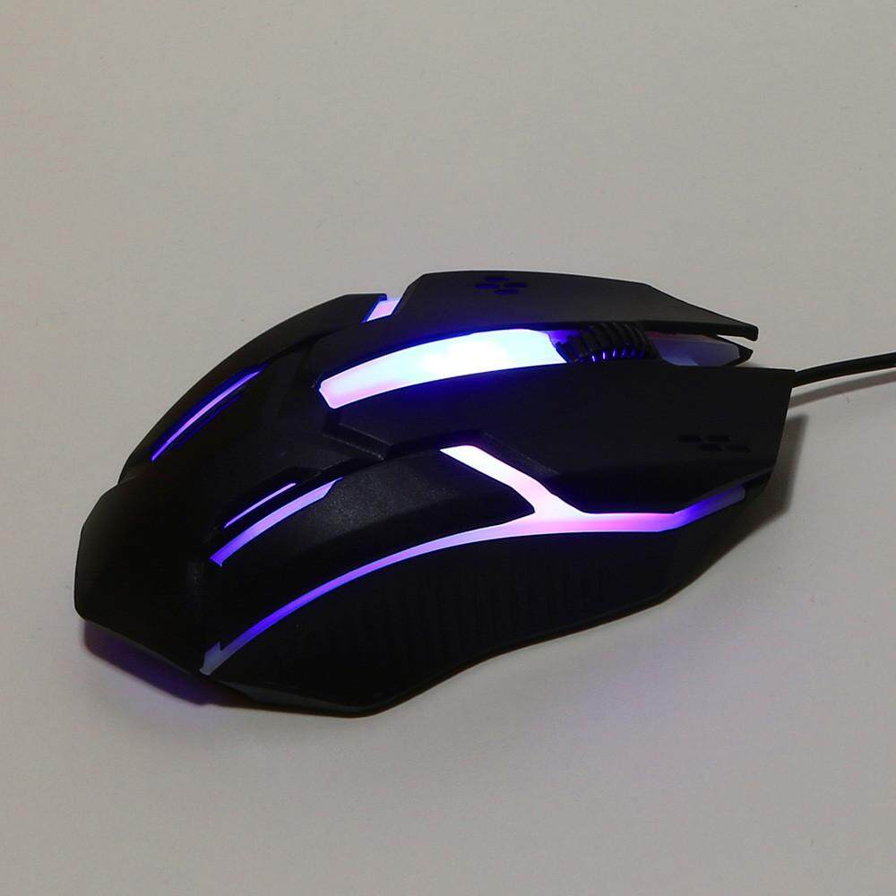 World Deal-Design 1200 DPI USB Wired Optical Gaming Mice Mouse For PC Laptop Malaysia