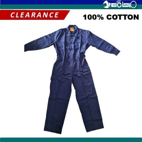 [CLEARANCE] WINSIR/EPIC Work Coverall Safety Coverall Work Uniform (Navy Blue)