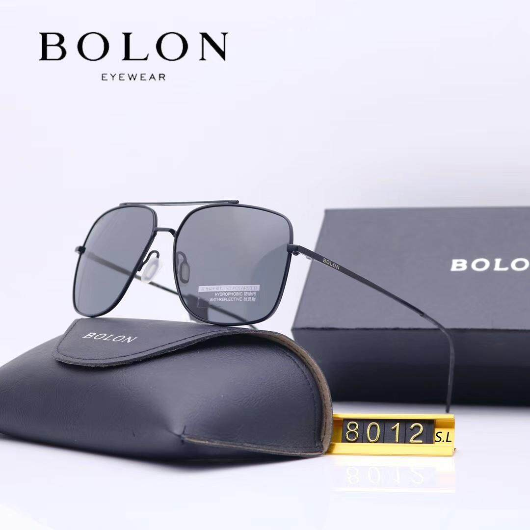 458af18aed41 Bolon Polarized Sunglasses Male Personality Metal Frame Frog Mirror Fashion  Sunglasses Driving Glasses BL8012