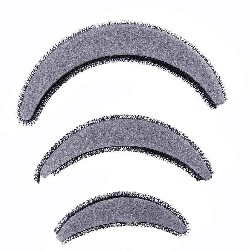 〔questionno〕Hair Puffs Arch Shaped Heighten Hair Styling Tools Accessories 3sizes/Pack tốt nhất