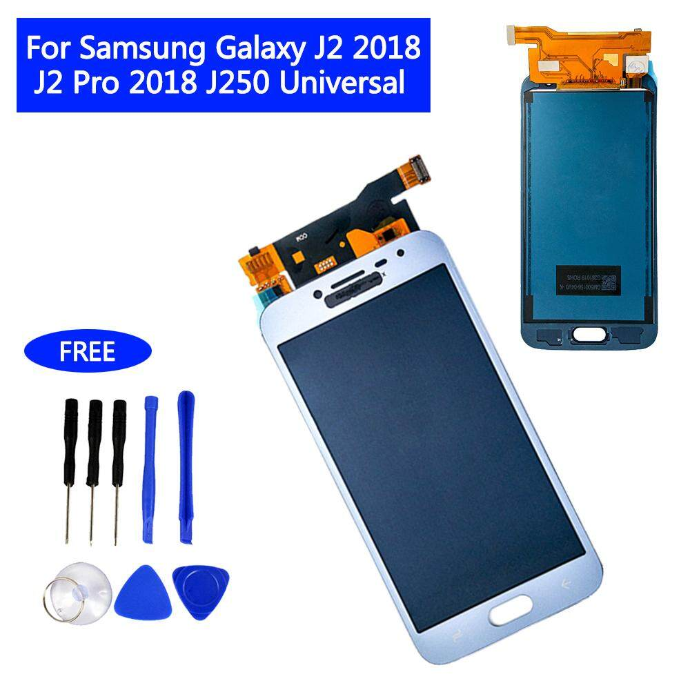 LCD Display Touch Screen Digitizer for Samsung Galaxy J2 Pro 2018 J250 Universal Assembly Replacement