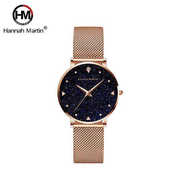 Hannah Martin Womens Classic Crystalline Quartz Watch Malaysia