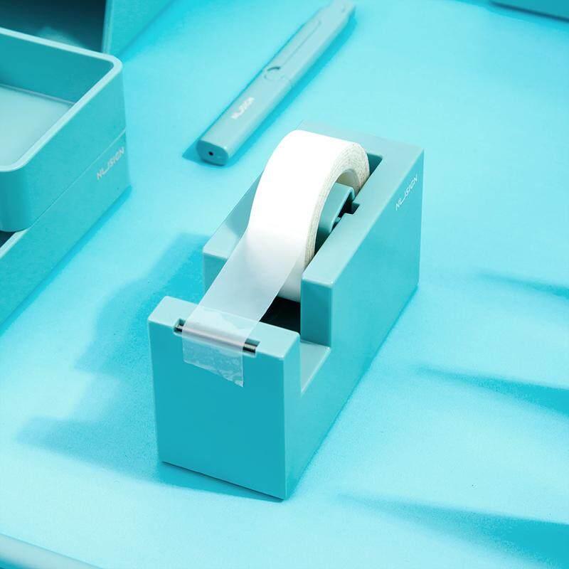 กล่องใส่สก็อตเทปตั้งโต๊ะ 1 นิ้ว Core เทปผู้ถือมีดตัดเทปสำนักงานโรงเรียนเครื่องเขียน By Lanzanda.