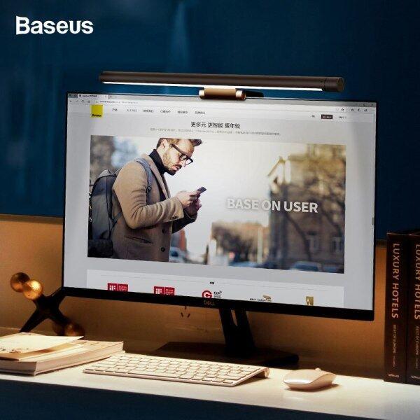 Baseus Screenbar LED Desk Lamp PC Computer Laptop Screen Bar Hanging Light Table Lamp USB Battery Reading Lamp For LCD monitor
