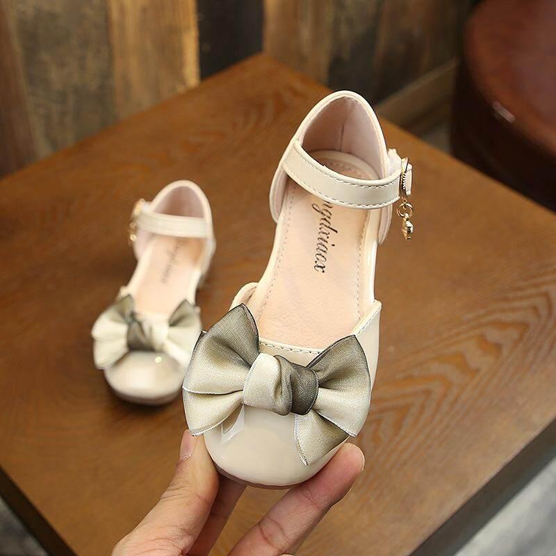 GGX 1-9 Tuổi Bé Gái công chúa thời trang đế mềm giày