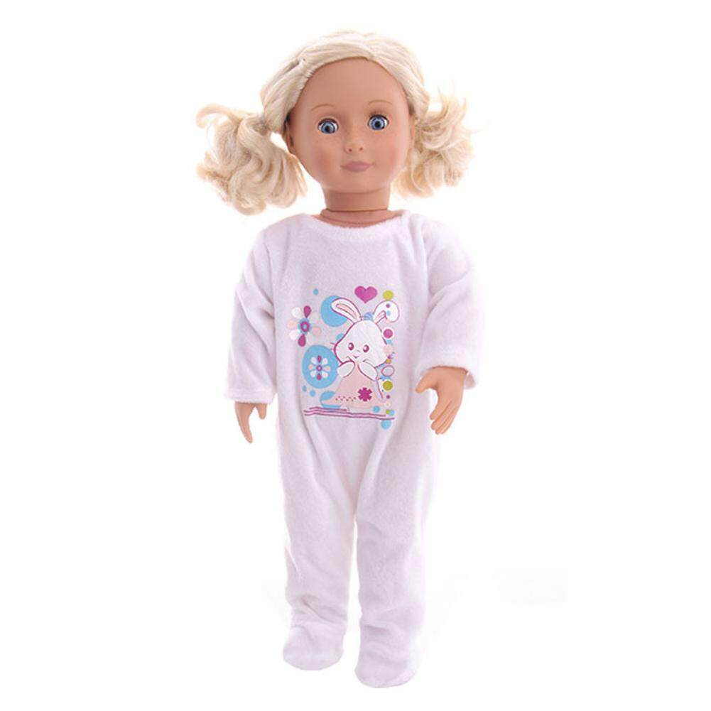 06afe9aa2dc56 W-Toy Doll Clothes Toy Casual Plush Warm Suit for 18 inch Baby Doll  Height:18 inch American doll clothes