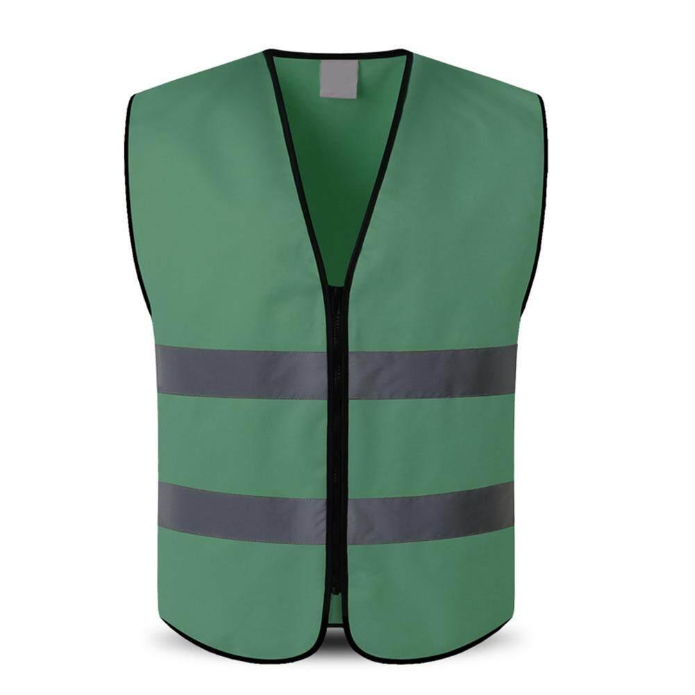 JBKJ Outdoor Night Riding Running Hi-Vis Safety Vest Reflective Jacket Security Waistcoat