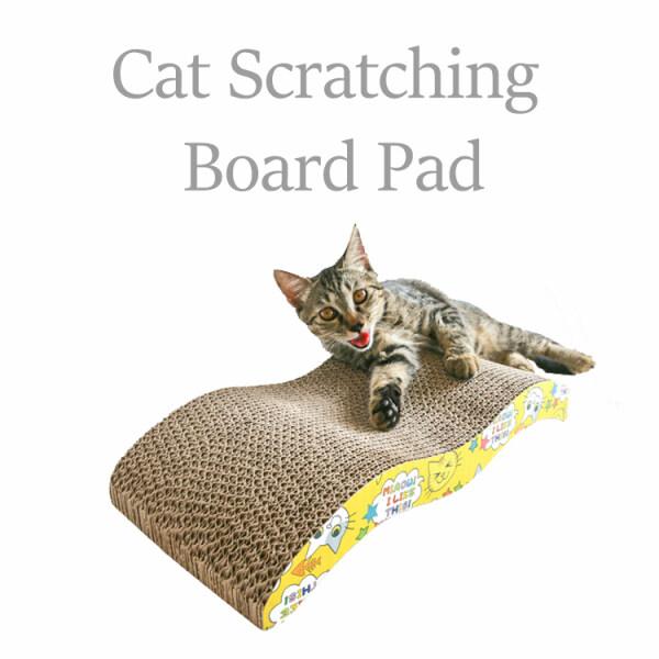 Tấm các tông Pet CAT KITTEN Scratch Board Pad claws mèo đồ chơi scratcher giường mat