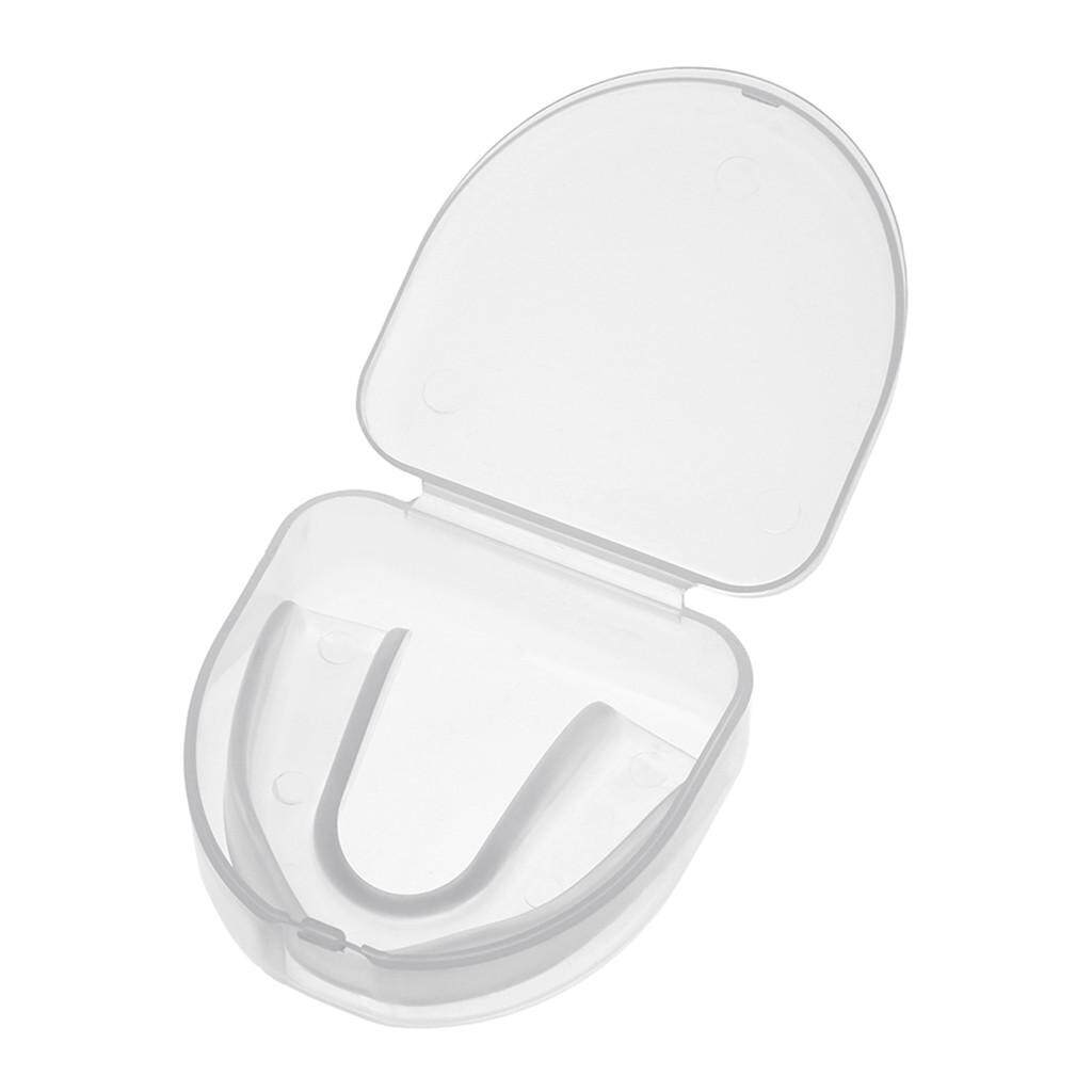 Hammshop CLEAR Gum Shield Teeth Protector Mouth Guard Piece Rugby Football Boxing
