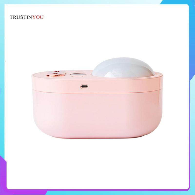 3 in 1 Air Humidifier Double Spray Cool Mist Moisturizer Purifier with Projection LED Night Light Singapore