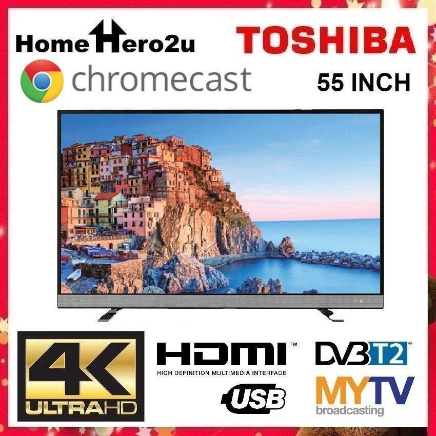 Toshiba 55U6750VM 55˝ 4K UHD Chromecast LED TV - Homehero2u