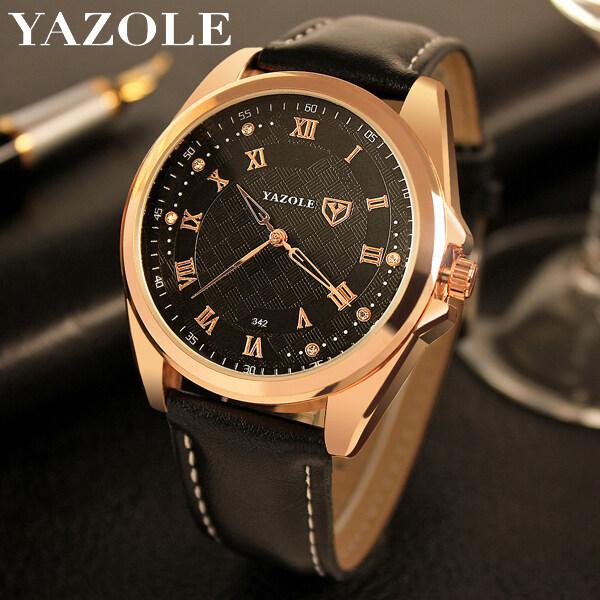 YAZOLE 342 Top Luxury Brand Watch For Man Fashion Sports Men Quartz Watches Trend Wristwatch Gift For Male jam tangan lelaki Malaysia