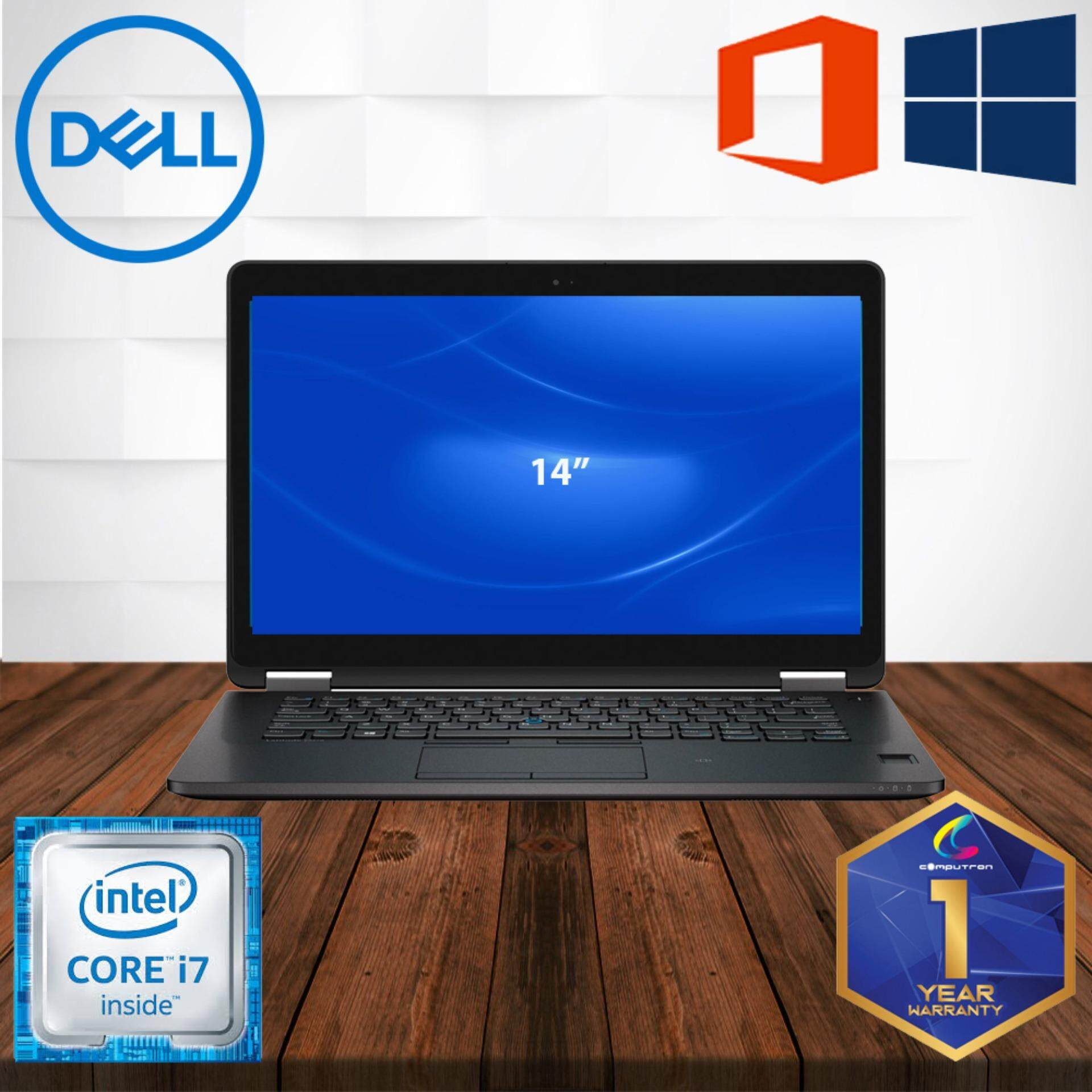 DELL LATITUDE E7470 [CORE I7 6TH GEN  8GB DDR4  256GB SSD] 1 YEAR WARRANTY [ LAPTOP ] Malaysia