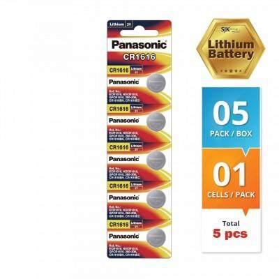 Panasonic Lithium Battery CR1616 (5 pcs) 3V Watch Batteries