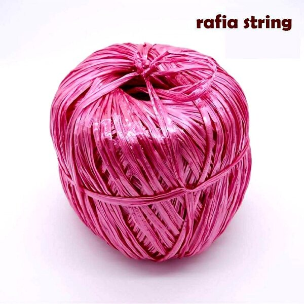 High Quality 900gm +/- Tali Plastik Kasar / Plastic Raffia String / Tali Rafia Plastik